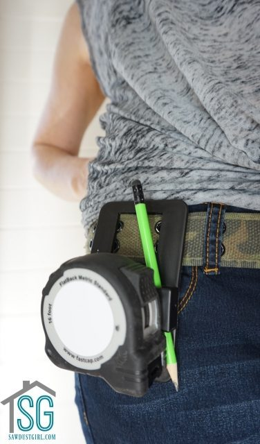 Speed Clip -Tape Measure Holder