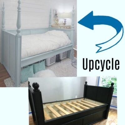Upcycle a Daybed for an Oh-So-Pretty Bedroom