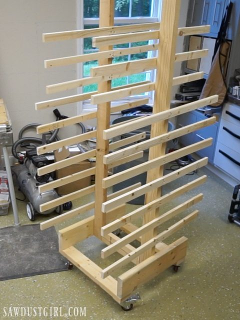 Paint Drying Rack For Cabinet Doors Sawdust Girl 174