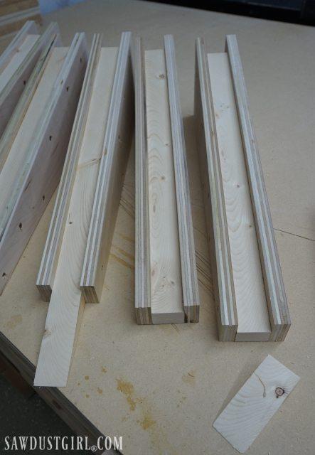 Cantilevered Shelf Brackets