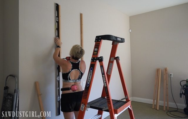 Installing Garage Shelves