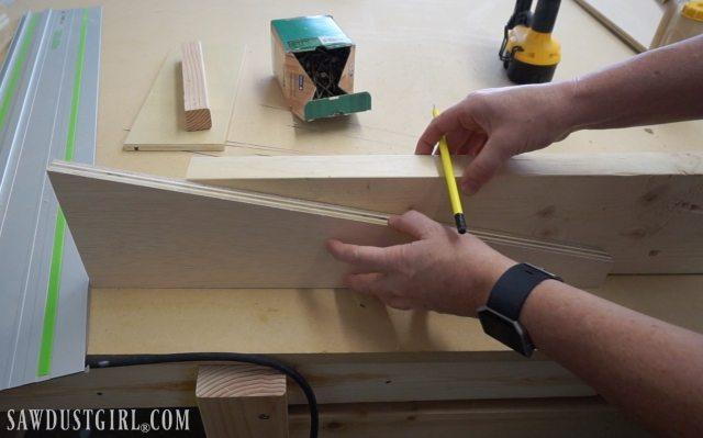 Building Garage Shelves - Cantilevered Shelf Brackets ...