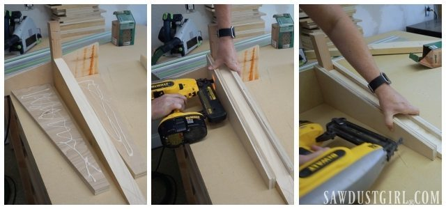 Building Cantilevered Shelf Brackets