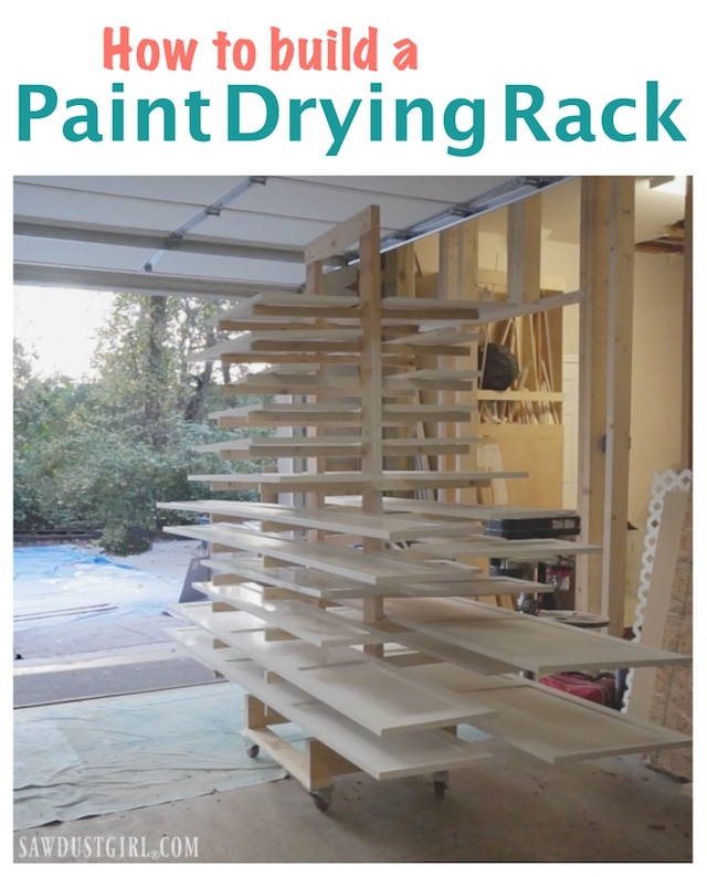 paint drying doors for sawdust girl rack cabinet