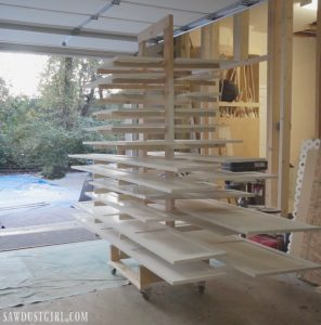 drying rack for cabinet doors Archives - Sawdust Girl®