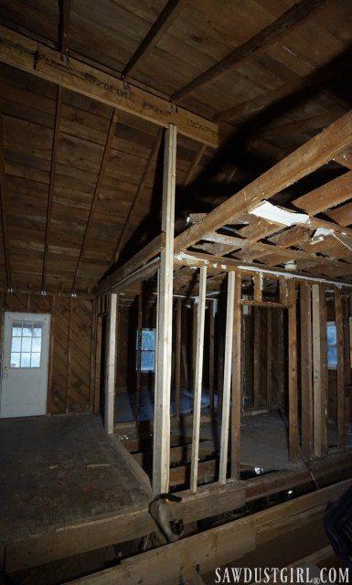 Calderwood Cottage opening ceiling