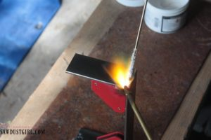 How to Braze – Brazing Metal Centerpiece Brackets
