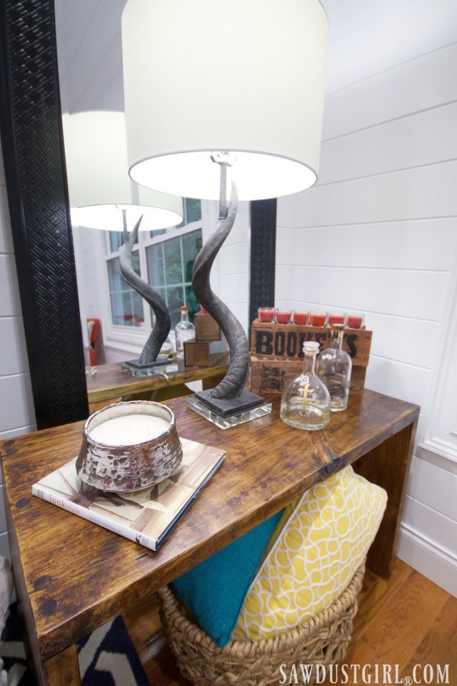 Diy Tables Two Nightstands For The Guest Bedroom