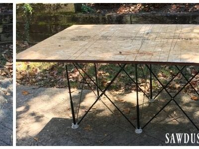 Centipede Sawhorse – Mobile Work Table – Giveaway