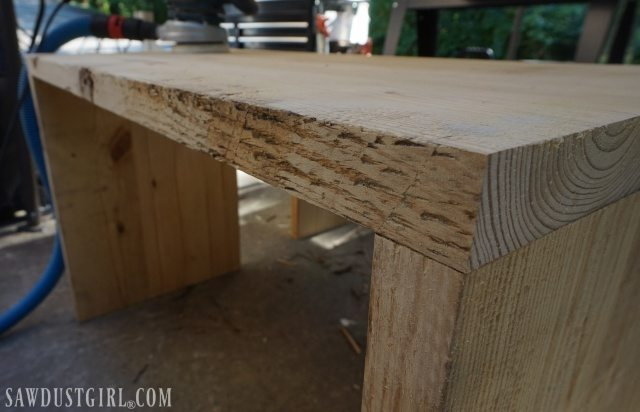 Rustic Pine diy tables