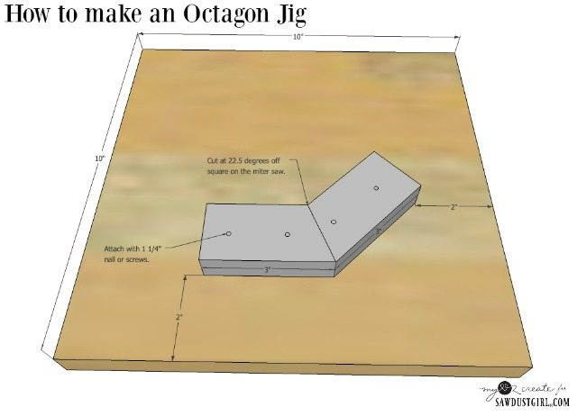 How To Make An Octagon Jig Building Geometric Shapes