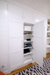 Tiny Closet in Guest Bedroom