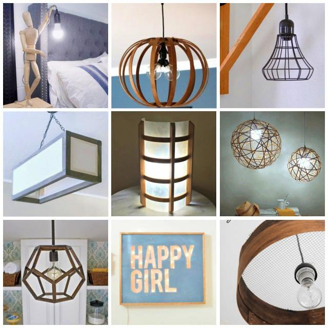 DIY lights you can make!