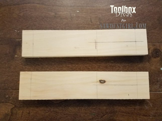 Dado Jig for Ryobi Palm Router 2 - Toolbox Divas for Sawdust Girl