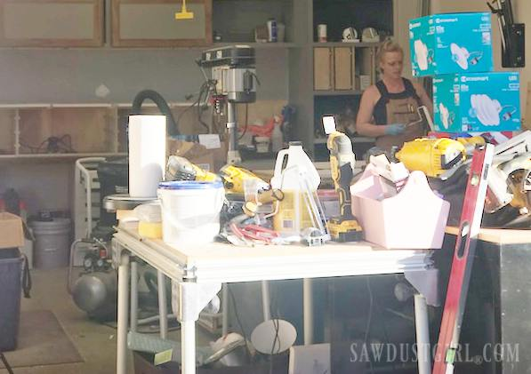 workshop mess
