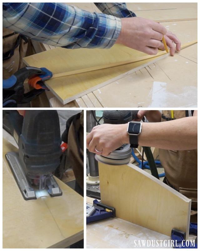 Building a slide out hamper