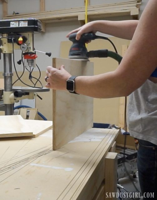 Prepping plywood for paint