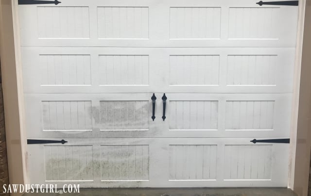How To Clean A Garage Door And White Rubber Weather