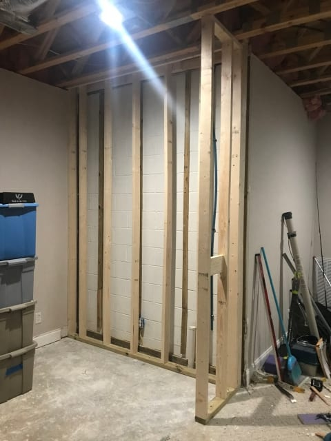 Building a wet bar