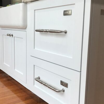 Dishwasher Drawers with Custom Panels