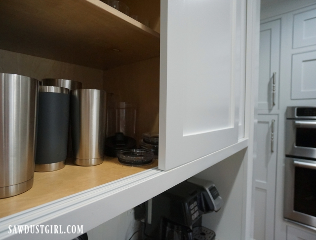 Sliding Cabinet Doors with Inset Track and Glides - Sawdust ...