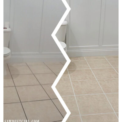 Grout Paint-it really works!