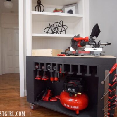 Mobile Tool Storage Workbench