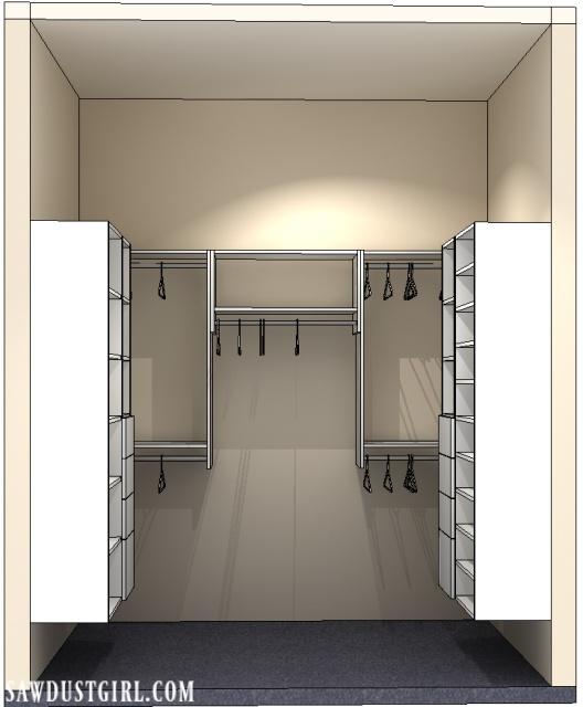 Modular Closet design