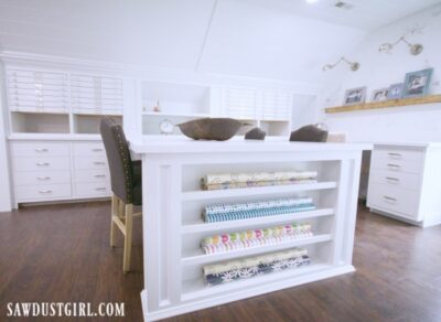 Wrapping paper cabinet