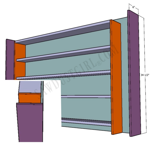 plans for wrapping paper cabinet