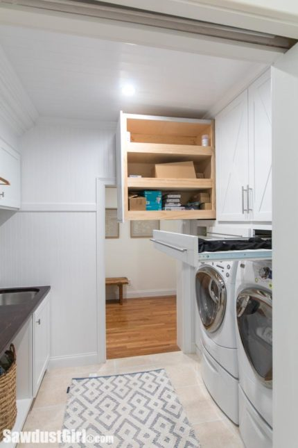 Maryville House Tour Laundry Room