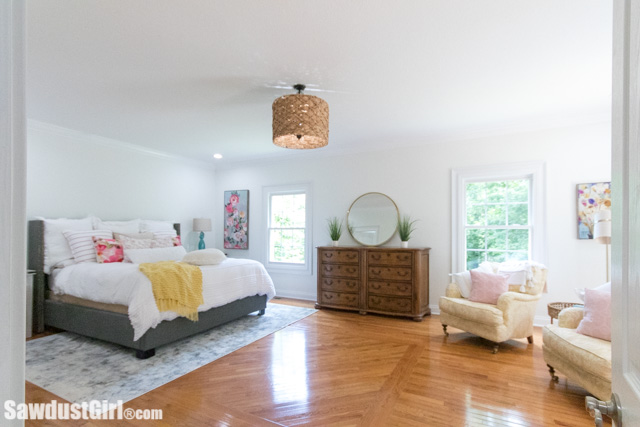 large master bedroom layout