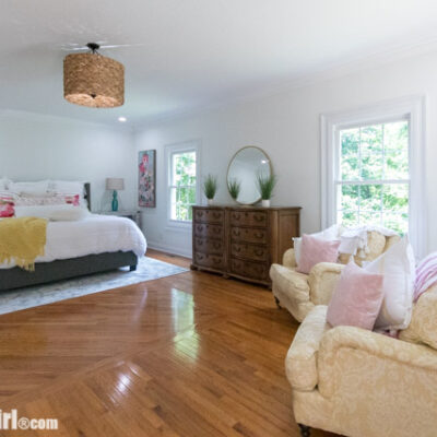 Maryville House Tour – Master Bedroom and Walk-in Closet